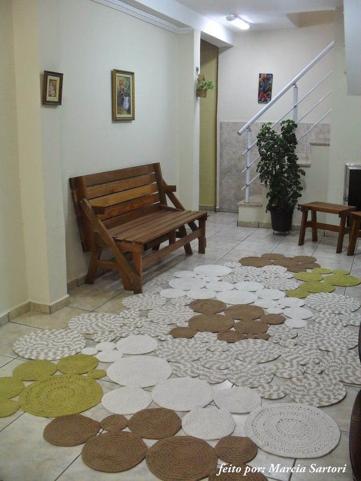 marcia sartori crochetando: Tapetão Bolas