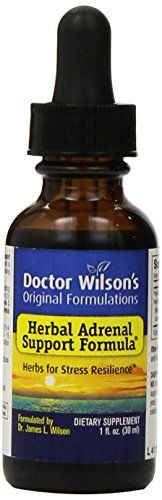 Doctor Wilson's Original Formulations designed Herbal Adrenal Support Formula to provide high quality herbs formulated to support the body's ability to respond to stressful situations as well as adren...