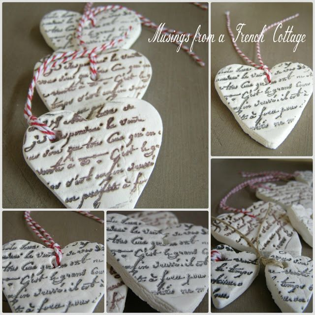 Musings From A French Cottage: DIY Clay Tags ~ on my to do list...