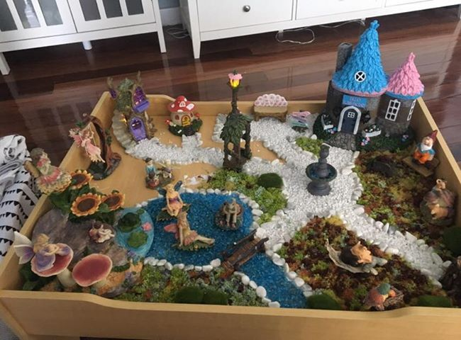 Creating A Fairy Garden Kmart Hack Fairy Garden Create A