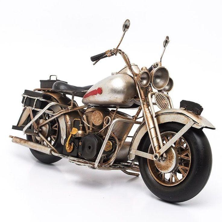 Miniatura Moto Custom Metálica - Machine Cult | A loja das camisetas de carro e moto
