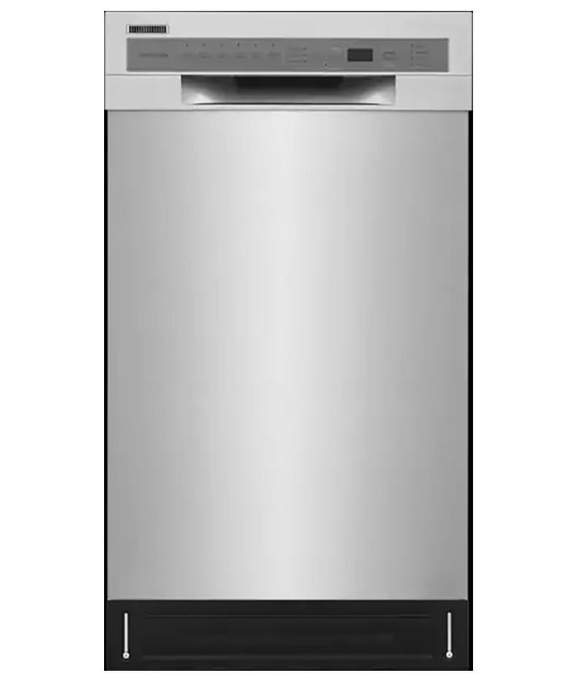 Frigidaire 18 Ada Stainless Steel Built In Dishwasher Ffbd1831us Built In Dishwasher Compact Dishwasher Thin Dishwasher