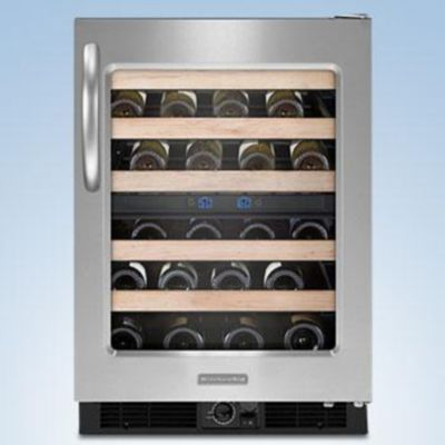 KitchenAid® Architect® Series II 24'' Wine Cellar, Stainless Steel, KUWS24RSSS - Sears | Sears Canada