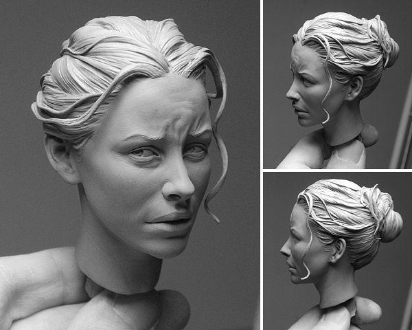 Polymer+Clay+Sculpture+Peoples | september 14th in art works sculptures modeling 161 tweet tweet