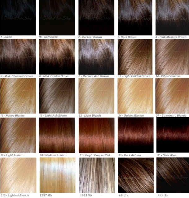 26 best Hair color images on Pinterest Hair, Make up and Natural - sample hair color chart