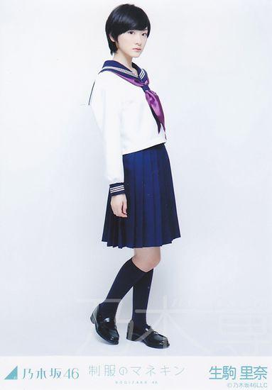会場限定生写真 制服のマネキン ヒキ