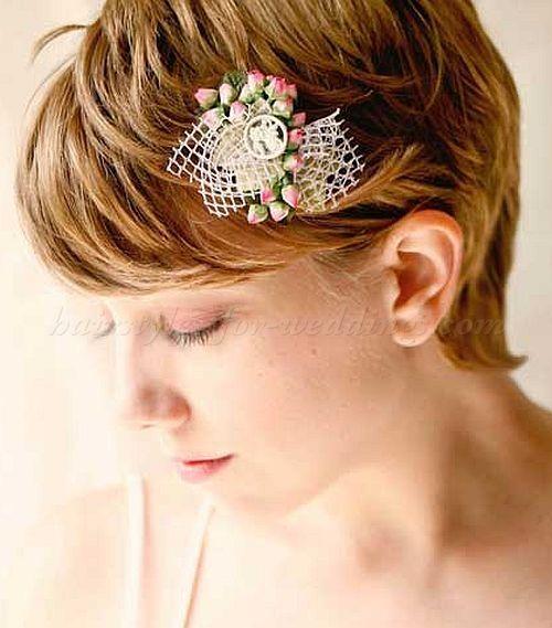 Strange 1000 Ideas About Short Bridal Hairstyles On Pinterest Wedding Short Hairstyles For Black Women Fulllsitofus