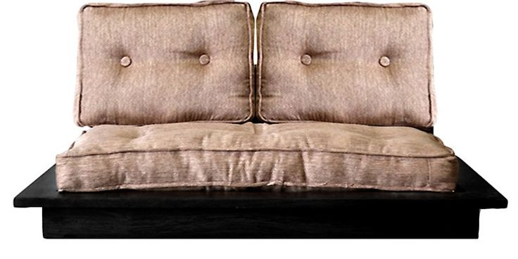 Puebla Upholstered Double Seater Sofa by Woodsworth