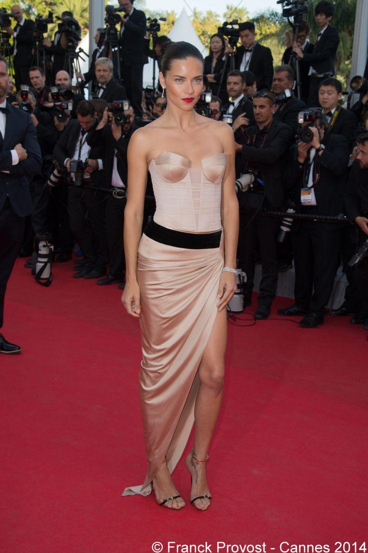 La sublime top model brésilienne Adriana Lima mise en beauté par Fabien Provost.#Cannes #Croisette #Hair #FranckProvost #Glamour #Cannes2014 #FPCannes2014