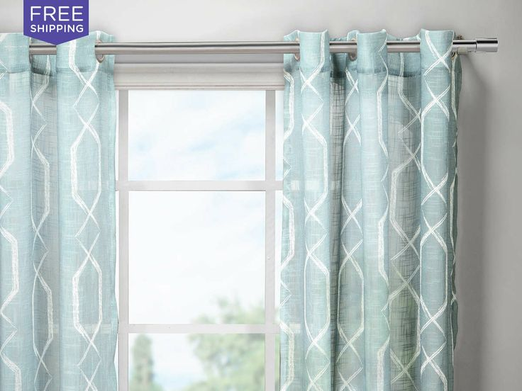 LivingSocial Shop: Arcadia Window Panel Curtains Just Ordered Them For Patio  Door:)