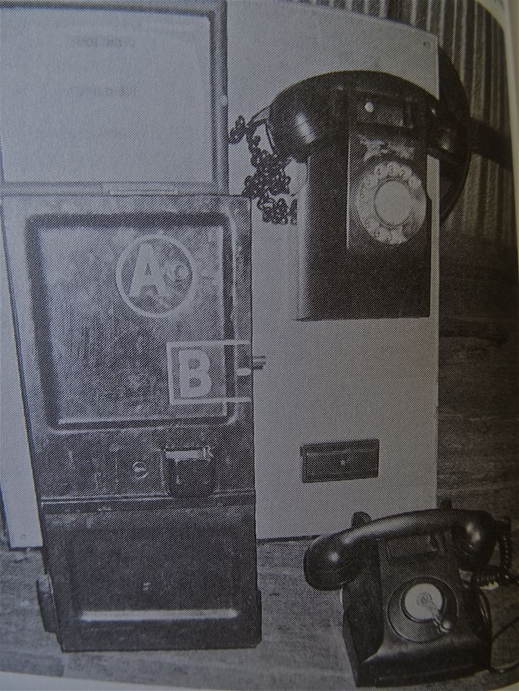 """Do you remember pushing 'A' to get connected?  Found in """"Growing up in the 50s and 60s"""" by John (JB) Bridges.   Contact jbesperance@hotmail.com"""