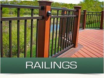 With a maintenance free deck, as well as deck railings and outdoor staircases constructed using composite decking materials, you don't have to worry about constant upkeep. Instead, you can enjoy your deck all year round.