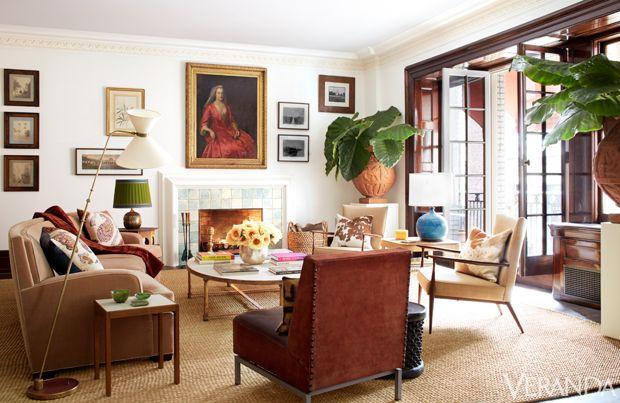 Roman Infused Living Room Decor