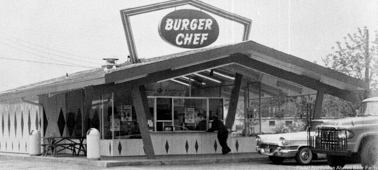A pioneer in the fast food franchise game, Burger Chef helped to create the successful prototype that other brands would soon follow. Bought in the '80s by Hardees, they closed down altogether in 1996.