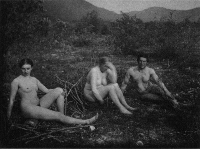 Мари Шнюр, Мария Франк и Франц Марк, 1906