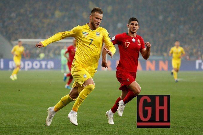Ukraine 2 1 Portugal Football Euro Football Today Football Gif