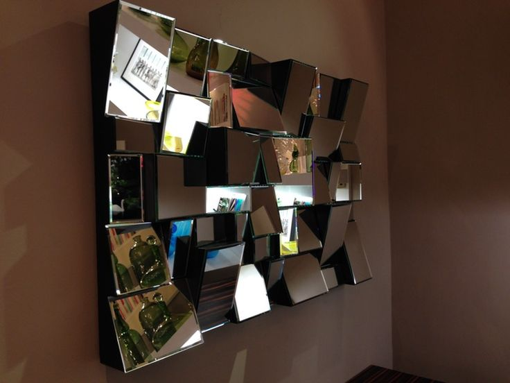 Large Mirror in the Style of Neal Small - Mid-Century / Modern Mirrors - Dering Hall