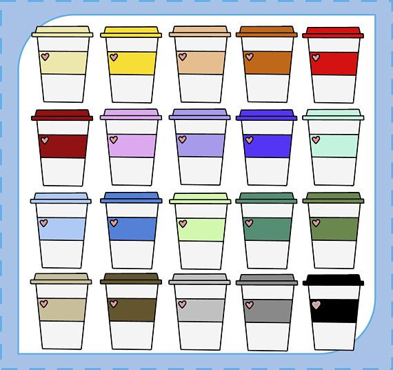 Sale Coffee Cup Clipart Coffee Mug Clipart Coffee Clipart