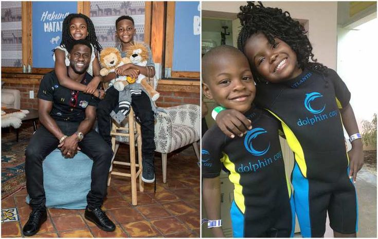 Kevin Hart's kids - son and daughter