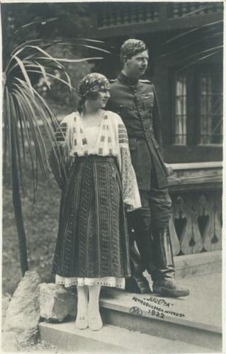 Kronprinz Carol von Rumänien mit         , Crown Prince of Romania by Miss Mertens, via Flickr