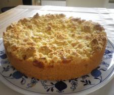 Rezept Apfelkuchen mit Pudding und Streusel von W-Sabrina82 - Rezept der Kategorie Backen süß