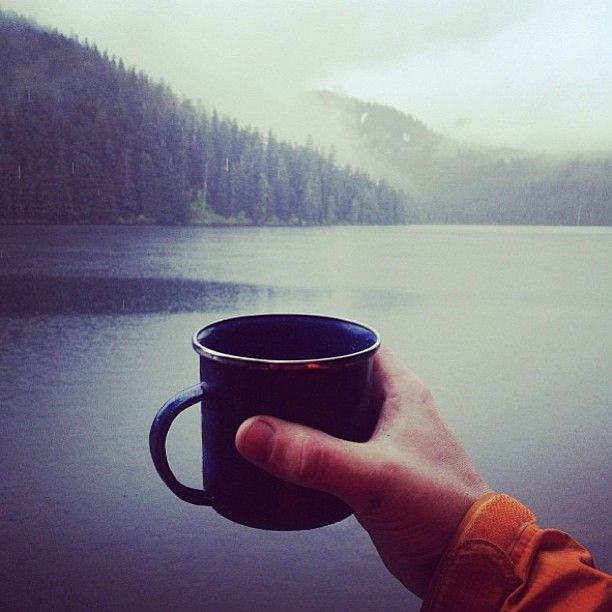 Coffee and Mountains. Yes, please.