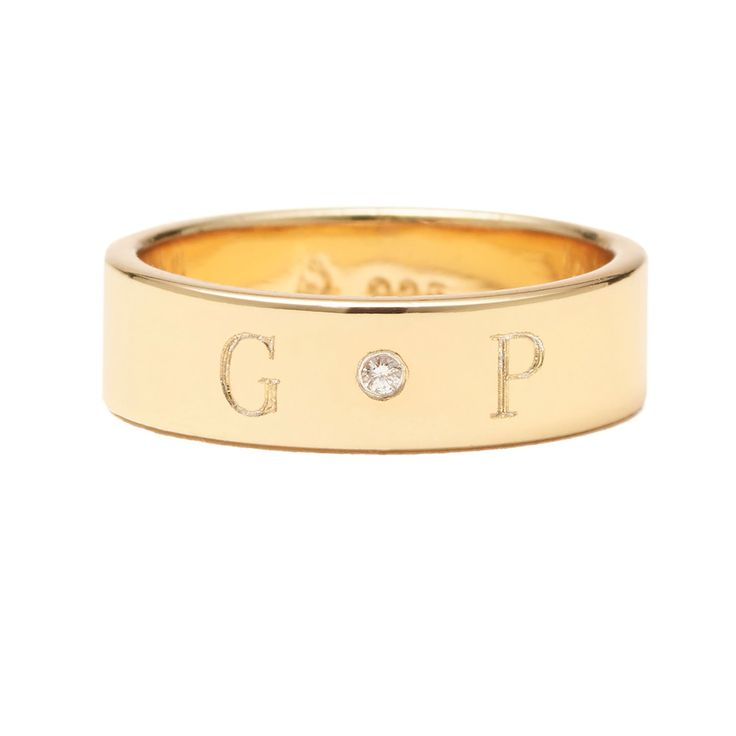 Check out Ciela Band with Center Diamond at goop.com!'