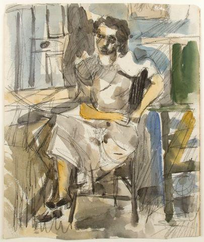 Jack Tworkov (1900 -1982) was een in Polen geboren Amerikaanse abstract expressionistische schilder. In de aanloop naar de Eerste Wereldoorlog , zijn vader, die kleermaker was, emigreerden zij naar de Verenigde Staten. Aanvankelijk wilde hij schrijver worden maar zijn zus overtuigde hem om schilderlessen te volgen.