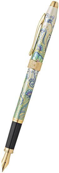 Cross Botanica Fountain Pen Green Daylily Medium;