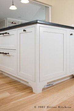 Divine Kitchens LLC Traditional Kitchen Want Other Uses For Your Toe Kick?  Try A Modern Central Vacuum System. You Can Incorporate A Hidden Suction  Port In ...