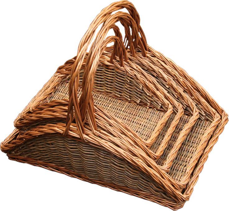 Set of 5 Fireside Log Baskets - http://redhamper.co.uk/set-of-5-fireside-log-baskets/  #logbaskets #shoppingbaskets