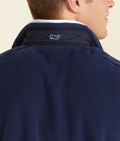 Vineyard Vines fleece jacket.