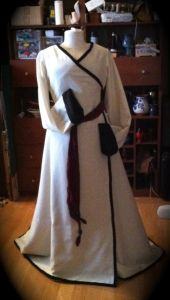Transitional Era Wrap Gown | Historical Personality Disorder