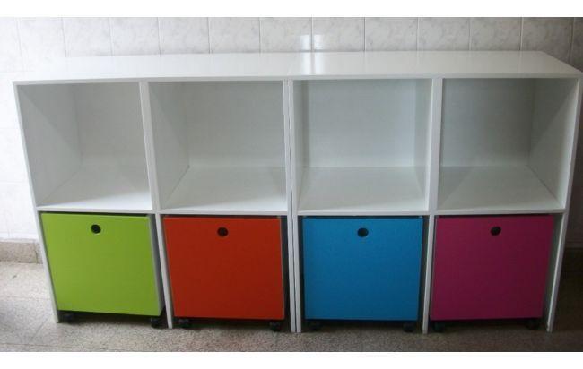 Mueble para juguetes bebes pinterest muebles para for Mueble guarda juguetes