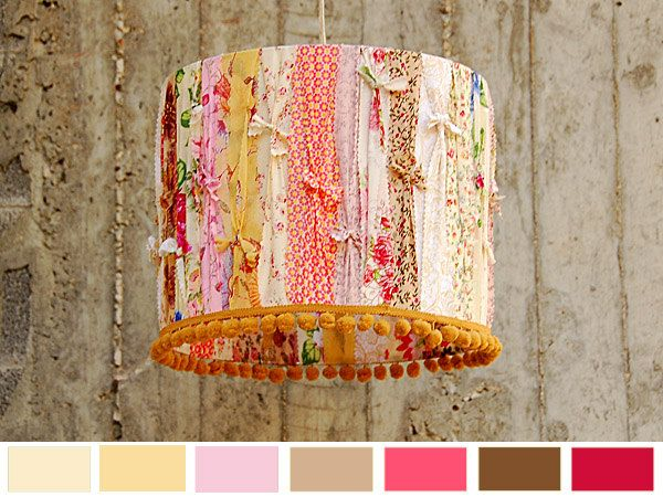 Crème brûlée - Designer Lamp Shade. Decorative Home Lighting..via Etsy