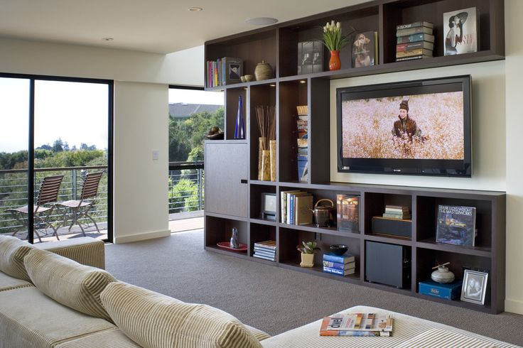 Wall Mounted Flat Screen Tv Design, Pictures, Remodel, Decor and Ideas - page 10