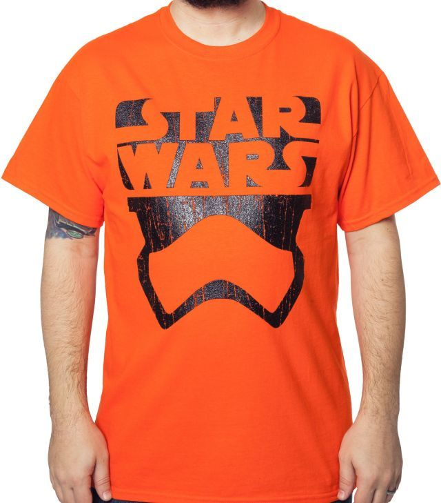 Star Wars Force Awakens Minimal Stormtrooper T-Shirt - Movie T-Shirt