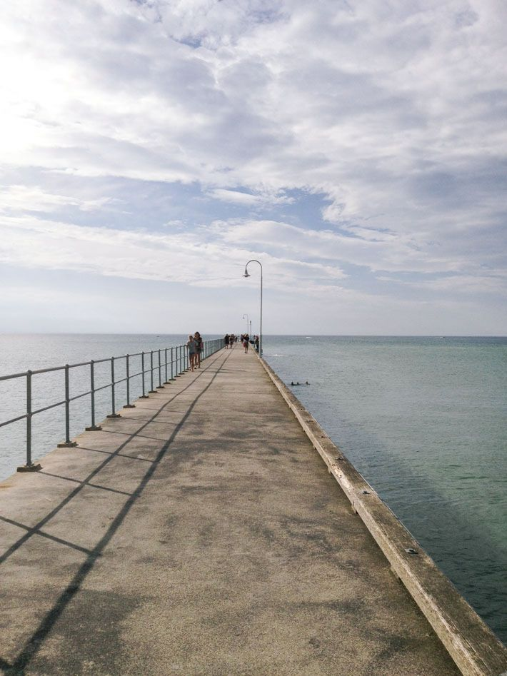 The pier in Dromana on Mornington Peninsula, just an hour or so drive south from Melbourne #morningtongpeninsula #victoria #australia #view Klaus and Fritz | http://klausandfritz.com/a-day-trip-to-dromana/