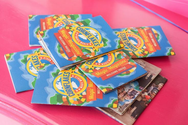 Every kids receives a Cornflake's Magic World Magic Magazine to take home. When you book one of our entertainers.