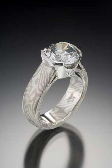 Mae Gane Diamond Ring From James Binnion Metal Arts