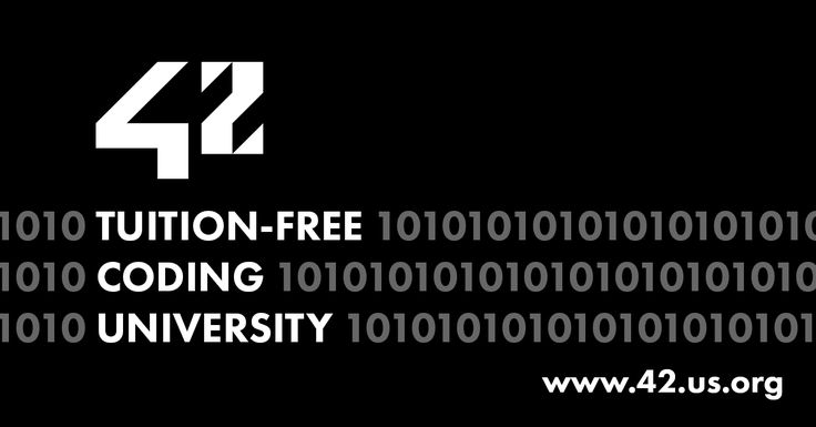 Apply online to train at 42. Learn to code at 42, a tuition free coding university non-profit and disruptive computer science school for developers in the San Francisco Bay area.