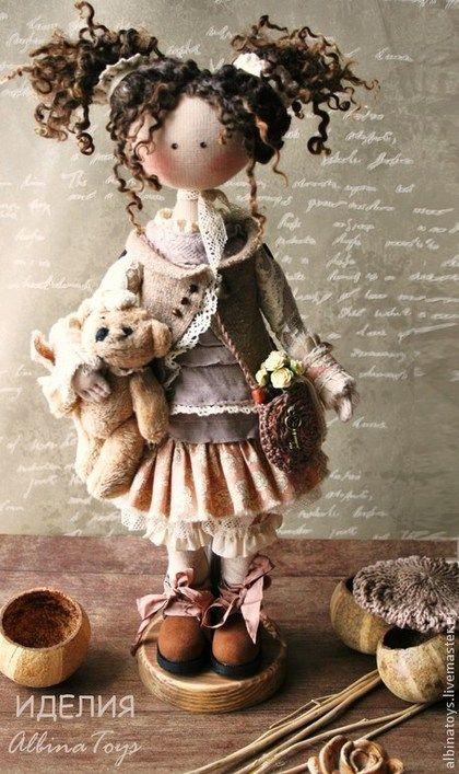 Collection de poupées faites à la main.  Maîtres équitables - faits à la main.  Acheter Basé sur Idelii.Tekstilnaya poupée.  Le style Boho.  Handmade.