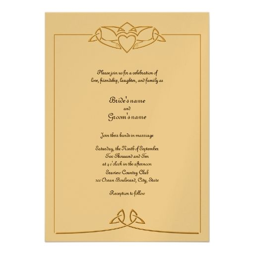 Wedding Invitations Ireland: 17 Best Images About Celtic Wedding Invitations I Love :