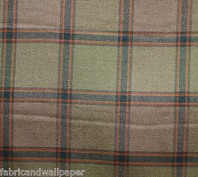Love this  100% Wool Plaid Fabric Summer Hill Fabric Roth Heather[By The Yard]