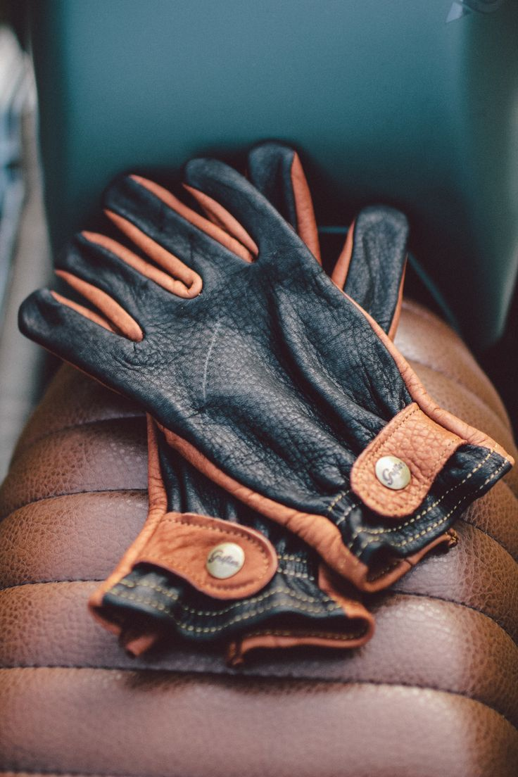Japanese leather motorcycle gloves - Grifter Classic Glove Made In Usa