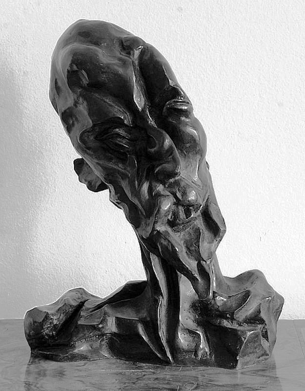 Otto Gutfreund (1889-1927) - Don Quichotte, 1911-1912