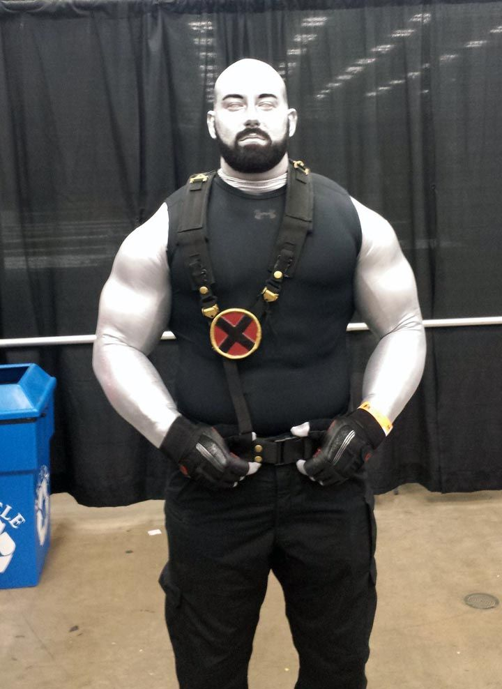 My Colossus X-men cosplay/costume for Wizard World Austin ...