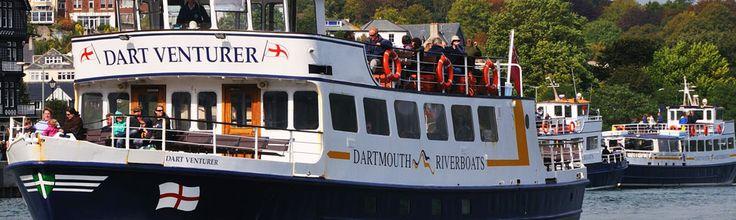 Totnes River Boat Cruise along the River Dart