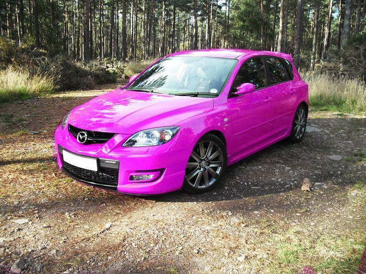Pink Mazda 3 MPS