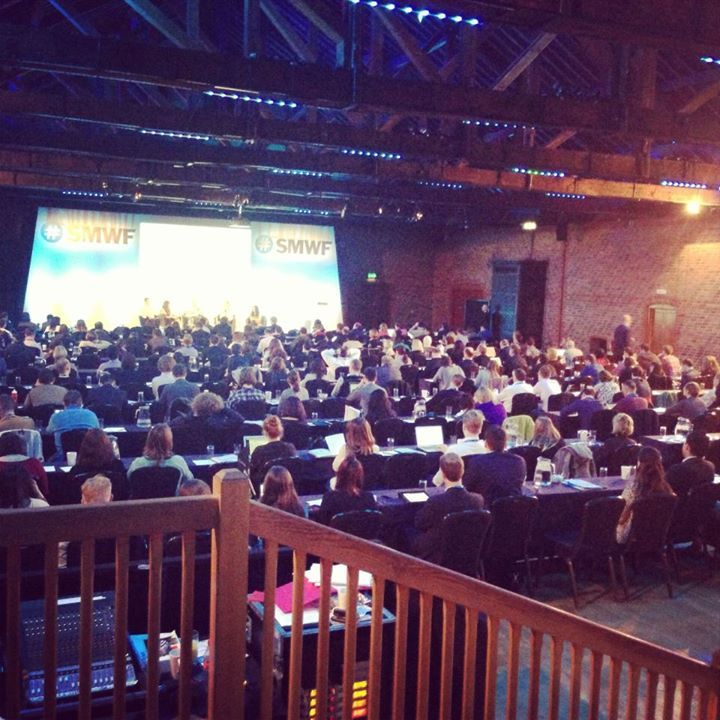 We visited London and Social Media World Forum Event (SMWF - http://www.socialmedia-forum.com/europe/) as a partner and met worderful people there!  March, 2013